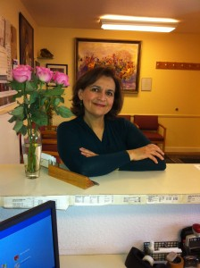 Mary Yasharpour, office manager